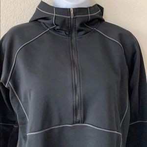 Columbia Cowl Neck 1/2 Zip Hooded Pullover